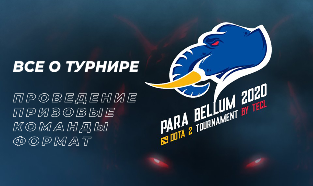 Para Bellum 2020 Dota2 Tournament: все о чемпионате.